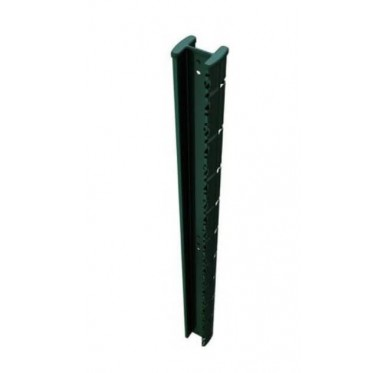 Poteau de clôture H 2m, gris