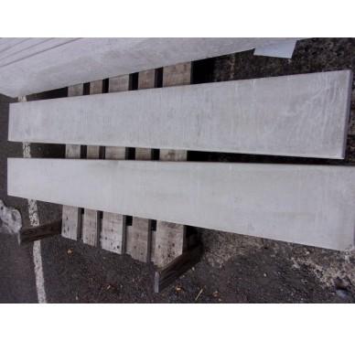 Plaque de soubassement droite H.25 cm