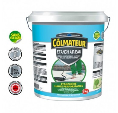 Colmateur Etanch Air / Eau  5kg