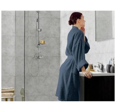 Dalle murale PVC béton clair DUMAWALL 65x37.5 cm