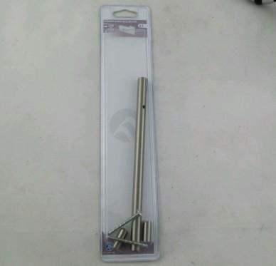 Poignée Bar Inox brossé L.208mm l.12mm P.33mm Entraxe 128mm