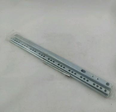 Paire de coulisses à billes, H17xP315mm
