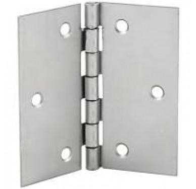 Charnière carrée, pour vis Ø2.5 mm, L50xH50xEp1mm