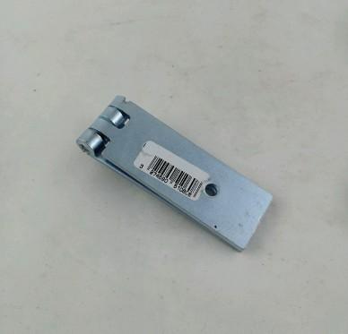 Charnière de coffre simple feuille, pour vis Ø4,5 mm, L160xH30xEp2,5mm