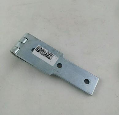 Charnière à congé simple feuille, pour vis Ø4,5 mm, L225xH35xEp2,5mm