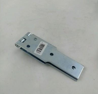 Charnière à congé simple feuille, pour vis Ø4,5 mm, L250xH40xEp2,5mm