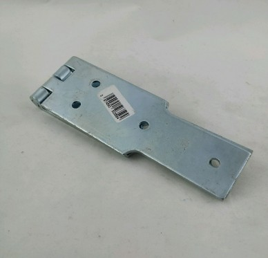 Charnière à congé simple feuille, pour vis Ø5 mm, L300xH50xEp3,5mm