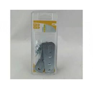 Attache de suspension, L25xH90xEp1.5 mm