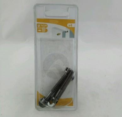 Assembleur, vis de rappel, insert à visser et rondelle D7 L50 mm