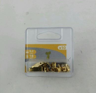 Crochet à tableau ,H18xL6,2xP7mm