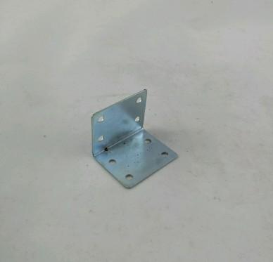 Équerre de chaise à bouts carrés, L33xH33xP40xEp1mm, acier zingué