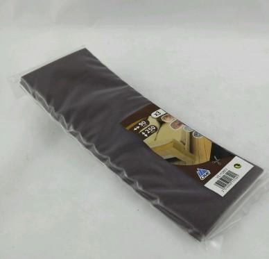 Patin à découper, L250xl90mm, brun