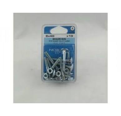 Boulon bois L40xDi6mm