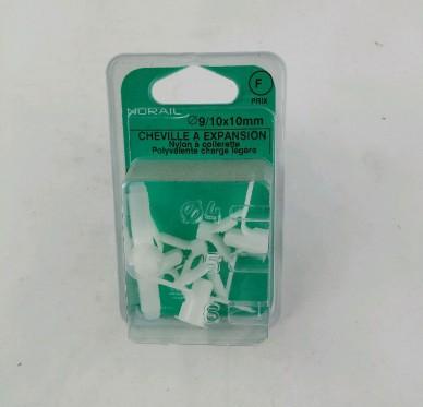 Cheville pieuvre polyamide L10xDi9mm