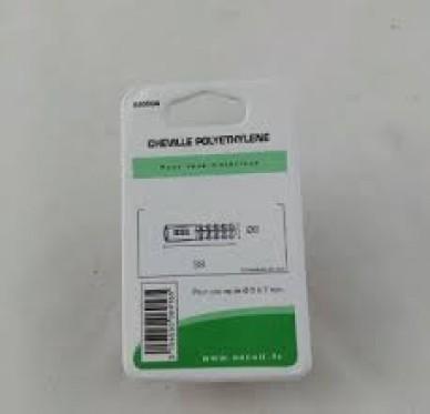 Cheville polyethylene L39xDi8mm