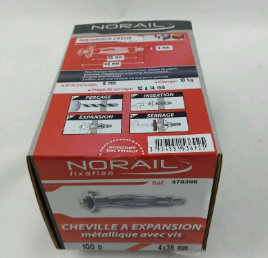 Cheville a expansion L38xDi4mm