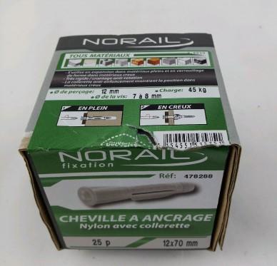 Cheville a ancrage pro L70xDi12mm