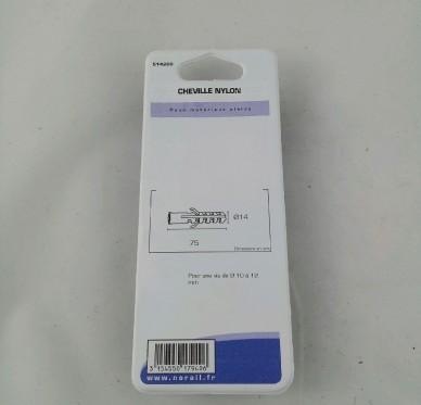 Cheville nylon L75xDi14mm