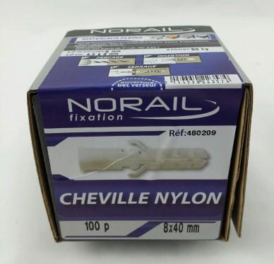 Cheville nylon L40xDi8mm