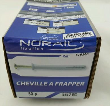 Cheville a frapper L80xDi8mm