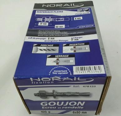 Goujon d ancrage L50xDi6mm