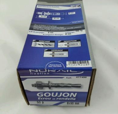 Goujon d ancrage L95xDi8mm