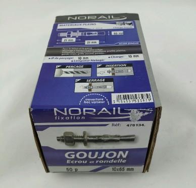 Goujon d ancrage L65xDi10mm