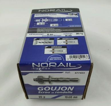 Goujon d ancrage L95xDi10mm