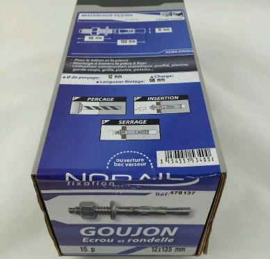 Goujon d ancrage L135xDi12mm