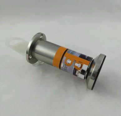 Pied inox pour caisson Diam 38mm H 120mm avec vérin réglable