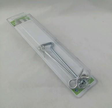 Crochet de contre-vent à piton, L160xØ5mm