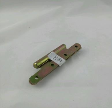 Paumelle de paris droite, pour vis Ø4 mm, Ø14,5xL60xH140xEp3mm
