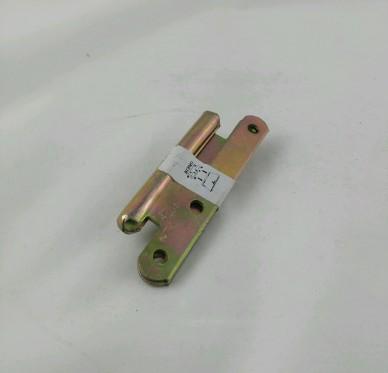 Paumelle de paris gauche, pour vis Ø3.5 mm, Ø12,5xL55xH110xEp3mm