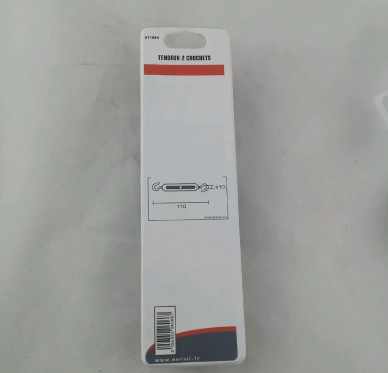 TENDEUR 2 CROCHETS GALV. 8X110