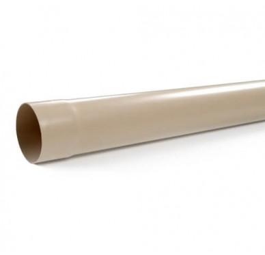 Tube de descente, diam 80 mm, long 2 m