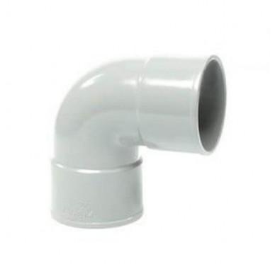 Coude Femelle / Femelle 87°30 D40 mm