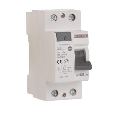 Interrupteur différentiel 30mA Type AC 40A