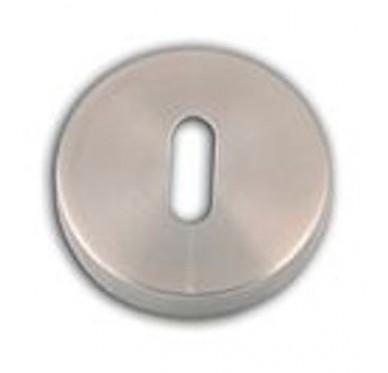 Lot de 2 rosaces Inox SS304 trou de clé l