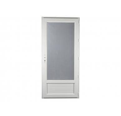 Porte-fenêtre PVC Gamme E.PRO 1 vantail tirant droit H 215 x L 90 cm