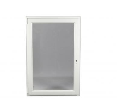 Fenêtre PVC Gamme E.PRO 1 vantail tirant gauche oscillo-battante H 95 x L 60 cm
