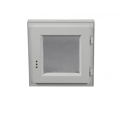 Fenêtre PVC Gamme E.PRO 1 vantail tirant droit H 135 x L 80 cm