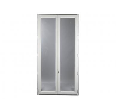 Fenêtre PVC Gamme E.PRO 2 vantaux H 145 x L 80 cm