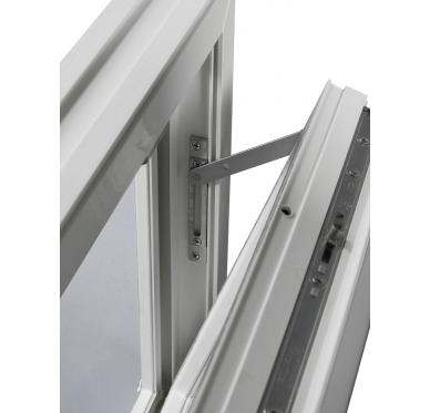 Fenêtre PVC Gamme E.PRO abattant H 60 x L 80 cm