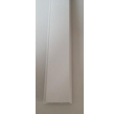 Tapée d'isolation blanche en PVC E.PRO épaisseur 98 mm x Longueur 3000 mm