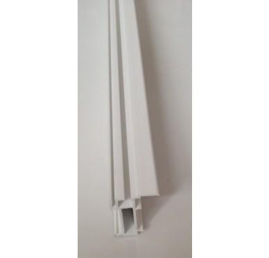 Élargisseur blanc 50 x 3000 mm gamme E.PRO
