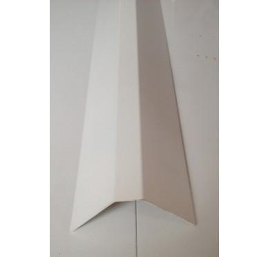 Capot de rénovation blanc en PVC Gamme E.PRO 80 mm x 100 mm x 3000 mm