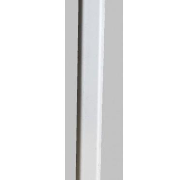 Petit bois à coller blanc en PVC Gamme E.PRO Longueur 3000 mm x Largeur 25 mm x Epaisseur 10 mm