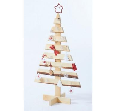 Sapin décoratif en bois