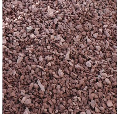 Gravier schiste rouge 6/20 sac 35kg
