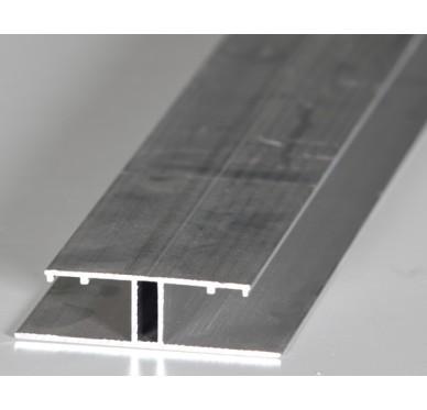 Profil alu brut type H, 4m